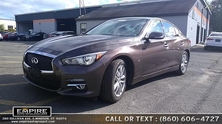 Used 2015 INFINITI Q50 in S.Windsor, Connecticut | Empire Auto Wholesalers. S.Windsor, Connecticut