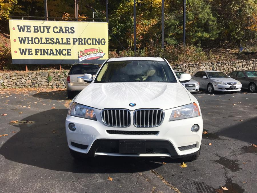 2013 BMW X3 AWD 4dr xDrive28i, available for sale in Naugatuck, Connecticut | Riverside Motorcars, LLC. Naugatuck, Connecticut