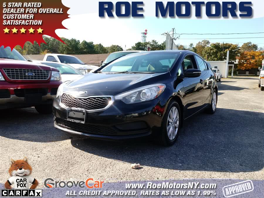 2014 Kia Forte 4dr Sdn Auto LX, available for sale in Shirley, New York   Roe Motors Ltd. Shirley, New York