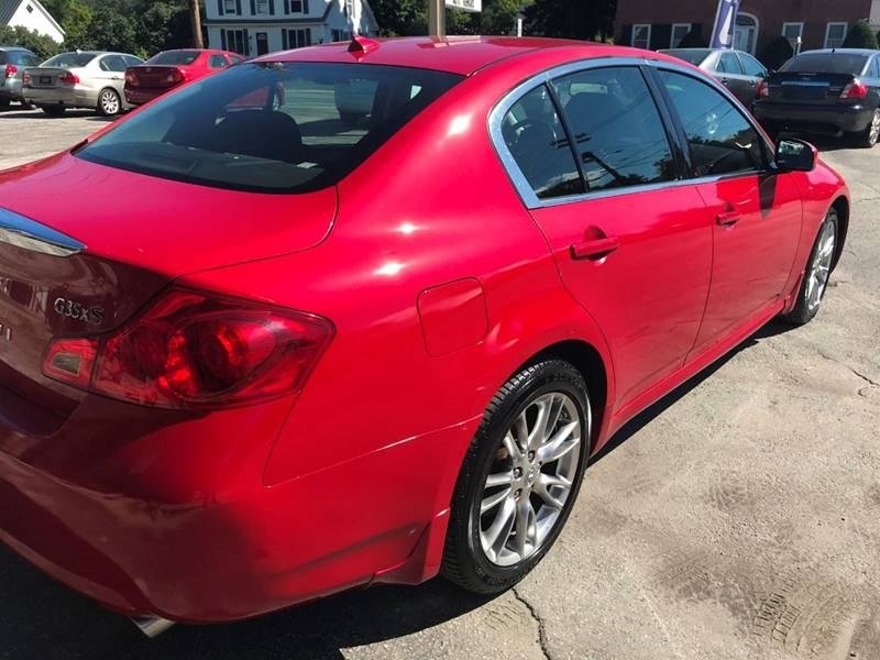 2008 Infiniti G35 Sedan 4dr x AWD, available for sale in Barre, Vermont | Routhier Auto Center. Barre, Vermont
