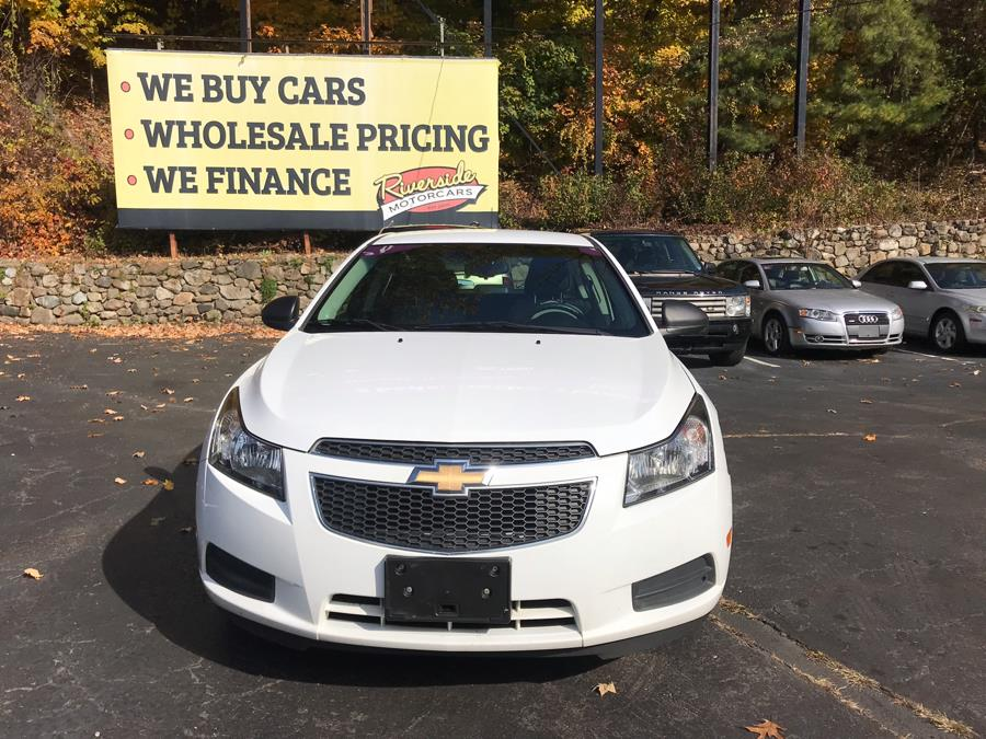 2012 Chevrolet Cruze 4dr Sdn LS, available for sale in Naugatuck, Connecticut | Riverside Motorcars, LLC. Naugatuck, Connecticut