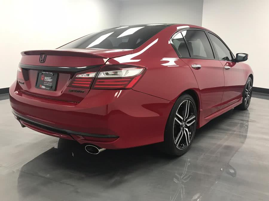 2016 Honda Accord Sedan 4dr I4 CVT Sport, available for sale in Linden, New Jersey | East Coast Auto Group. Linden, New Jersey