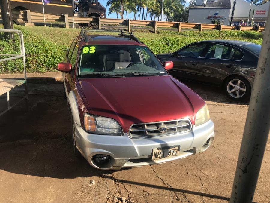 2003 Subaru Baja 4dr Auto, available for sale in Lihue, Hawaii | Harbor Motors Inc. Lihue, Hawaii