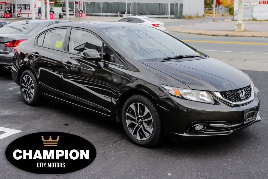 Used Honda Civic Sdn 4DR AUTO EX-L W/NAVI 2013 | Champion City Motors. Brockton, Massachusetts