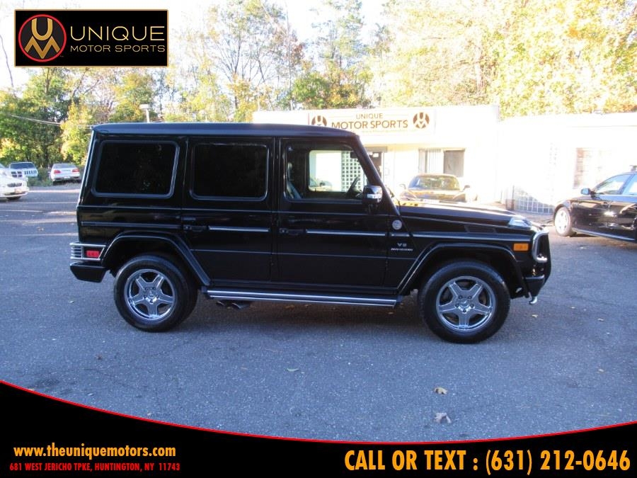 2005 Mercedes-Benz G-Class 4MATIC 4dr 5.5L AMG Grand Edition, available for sale in Huntington, New York | Unique Motor Sports. Huntington, New York
