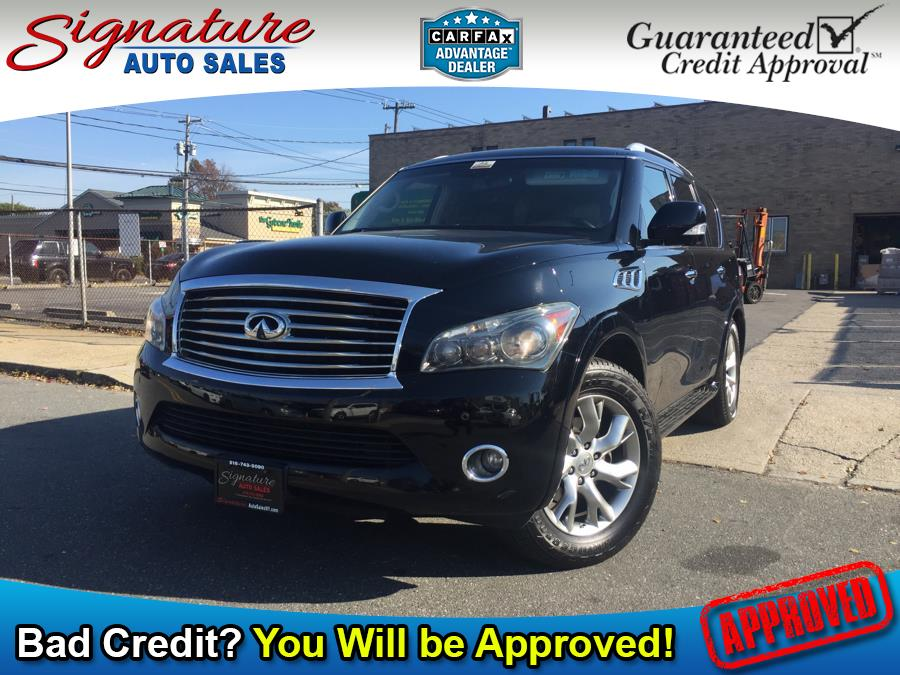 2011 Infiniti QX56 4WD 4dr 8-passenger, available for sale in Franklin Square, NY