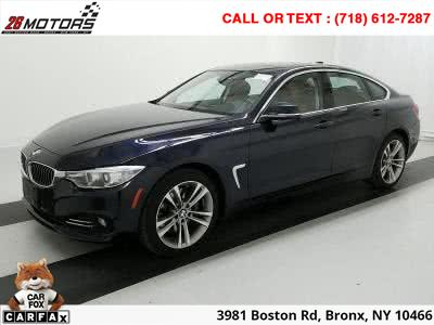 2015 BMW 4 Series Luxury Sport 4dr Sdn 428i xDrive AWD Gran Coupe SULEV, available for sale in Bronx, NY