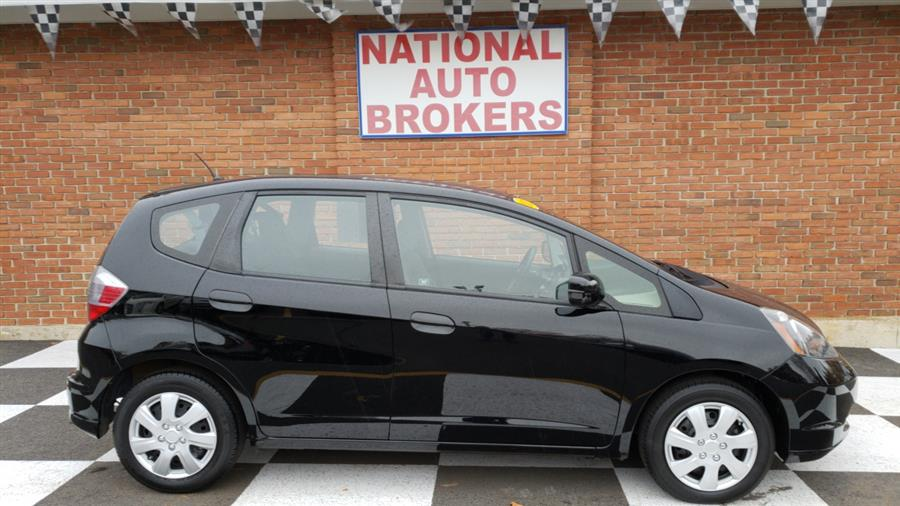 2013 Honda Fit 5dr HB Auto, available for sale in Waterbury, Connecticut | National Auto Brokers, Inc.. Waterbury, Connecticut