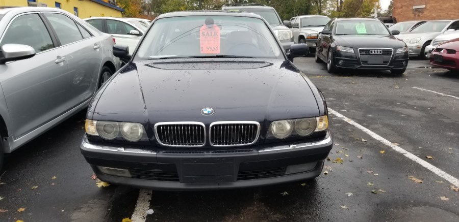 2001 BMW 7 Series 740iL 4dr Sdn, available for sale in East Hartford , Connecticut | Classic Motor Cars. East Hartford , Connecticut