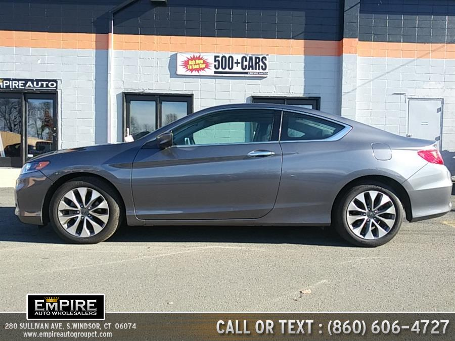 2015 Honda Accord Coupe 2dr I4 CVT LX-S, available for sale in S.Windsor, Connecticut | Empire Auto Wholesalers. S.Windsor, Connecticut