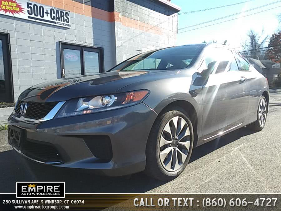 Used 2015 Honda Accord Coupe in S.Windsor, Connecticut | Empire Auto Wholesalers. S.Windsor, Connecticut