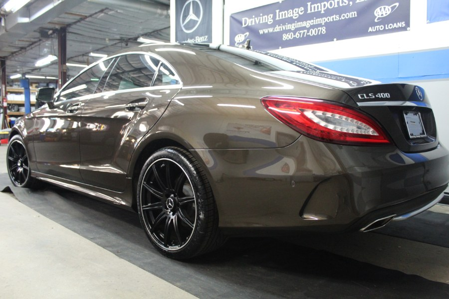 2015 Mercedes-Benz CLS-Class 4dr Sdn CLS 400 4MATIC, available for sale in Farmington, Connecticut | Driving Image Imports LLC. Farmington, Connecticut