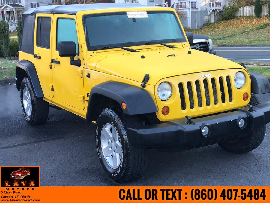 Used 2009 Jeep Wrangler Unlimited in Canton, Connecticut | Lava Motors. Canton, Connecticut