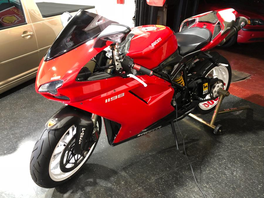 2009 DUCATI SUPERBIKE 1198 S 1198, available for sale in Newark, New Jersey   RT Auto Center LLC. Newark, New Jersey