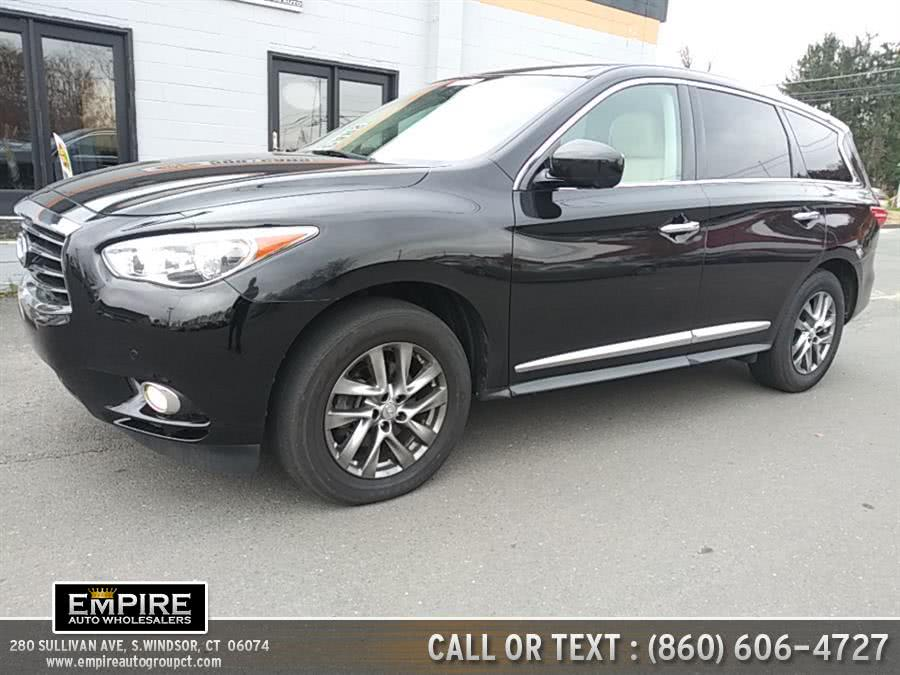 Used 2013 Infiniti JX35 in S.Windsor, Connecticut | Empire Auto Wholesalers. S.Windsor, Connecticut