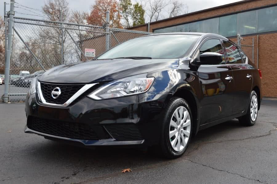 2016 Nissan Sentra 4dr Sdn I4 CVT SV, available for sale in Hartford, Connecticut   Locust Motors LLC. Hartford, Connecticut