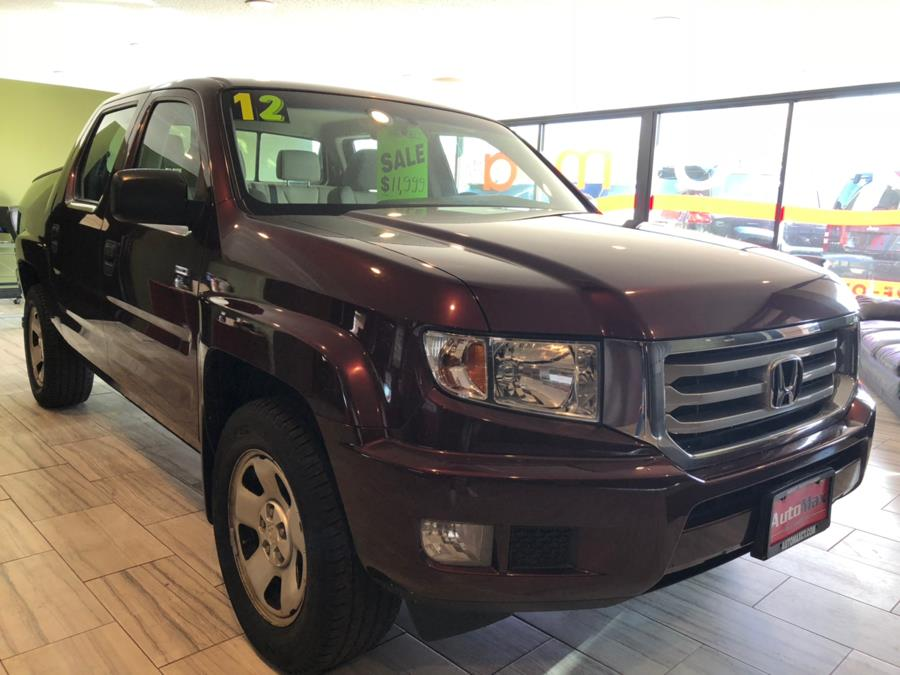 2012 Honda Ridgeline 4WD Crew Cab RT, available for sale in West Hartford, Connecticut | AutoMax. West Hartford, Connecticut