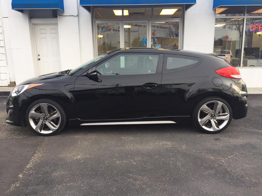 2013 Hyundai Veloster 3dr Cpe Auto Turbo w/Black Int, available for sale in Lindenhurst, New York | Rite Cars, Inc. Lindenhurst, New York