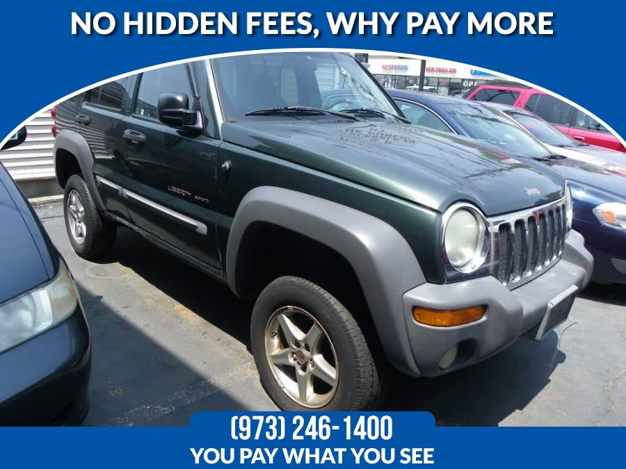 Used Jeep Liberty Sport 4dr 4WD SUV 2002 | Route 46 Auto Sales Inc. Lodi, New Jersey