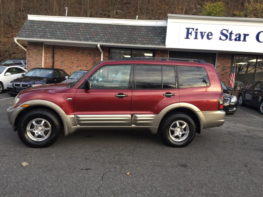 2002 Mitsubishi Montero 4dr 4WD XLS Auto, available for sale in Meriden, Connecticut | Five Star Cars LLC. Meriden, Connecticut