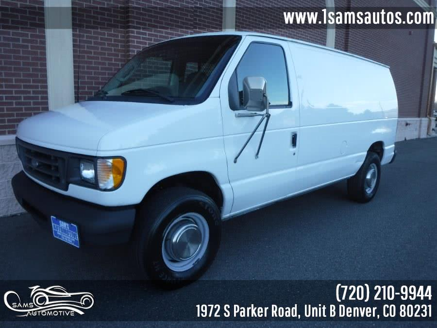 Used 2003 Ford Econoline Cargo Van in Denver, Colorado | Sam's Automotive. Denver, Colorado