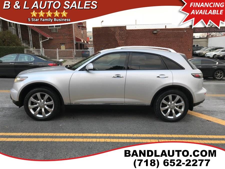 2007 Infiniti FX35 4dr AWD, available for sale in Bronx, New York | B & L Auto Sales LLC. Bronx, New York