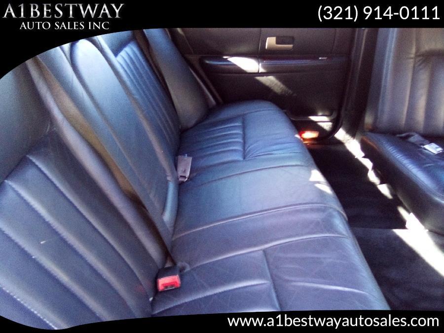 2006 Lincoln Town Car 4dr Sdn Executive w/Limousine Pkg, available for sale in Melbourne , Florida   A1 Bestway Auto Sales Inc.. Melbourne , Florida