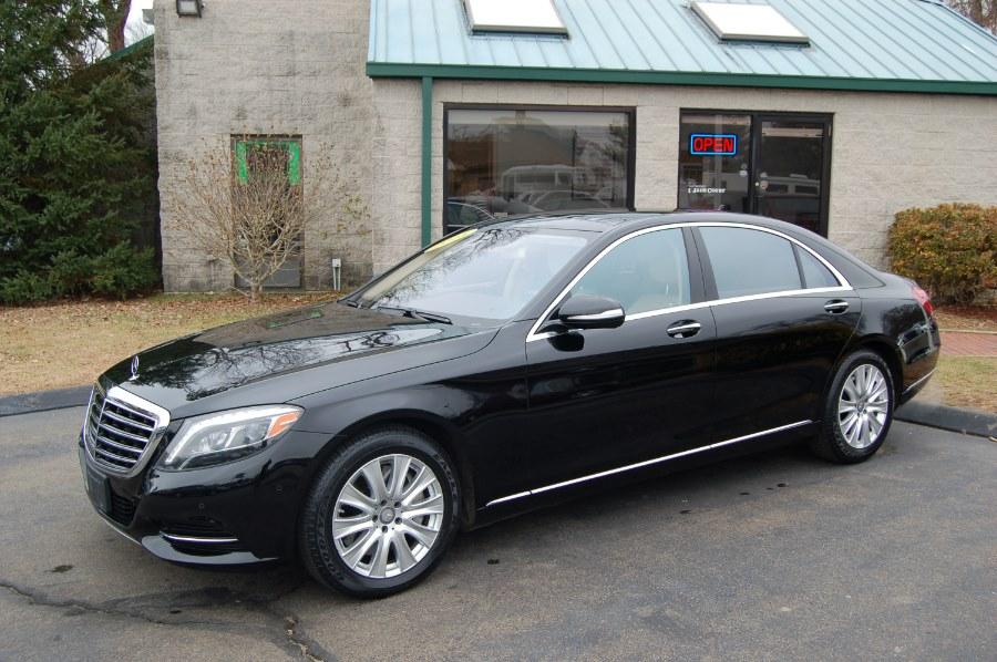 2015 Mercedes-Benz S-Class 4dr Sdn S550 4MATIC, available for sale in Old Saybrook, CT