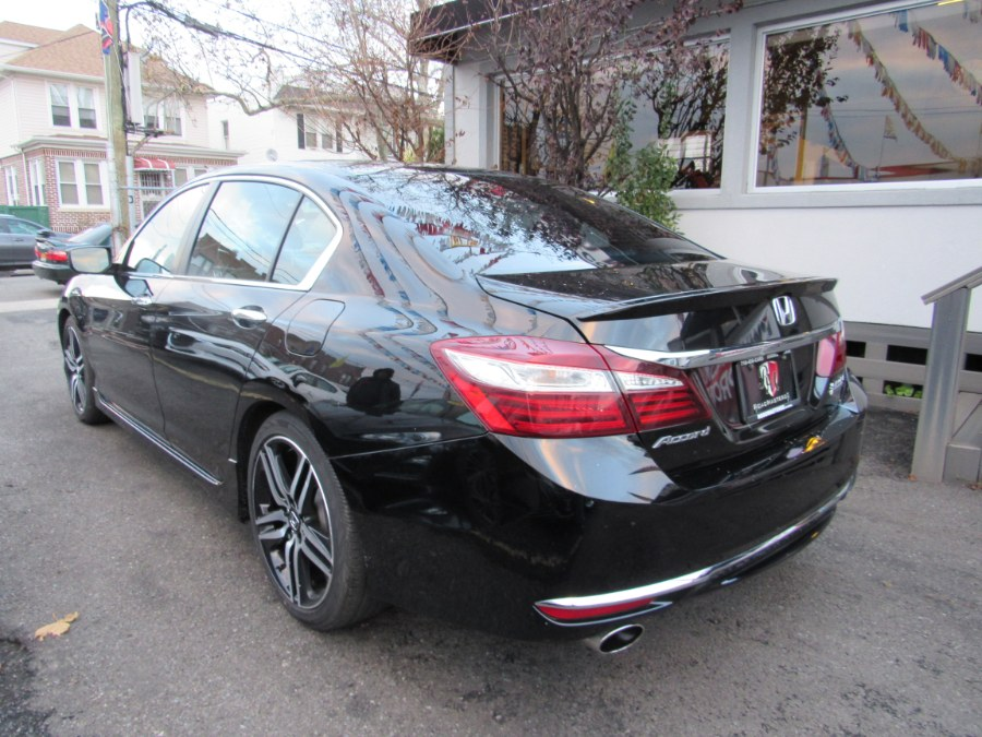 2017 Honda Accord Sedan Sport SE CVT, available for sale in Middle Village, New York | Road Masters II INC. Middle Village, New York
