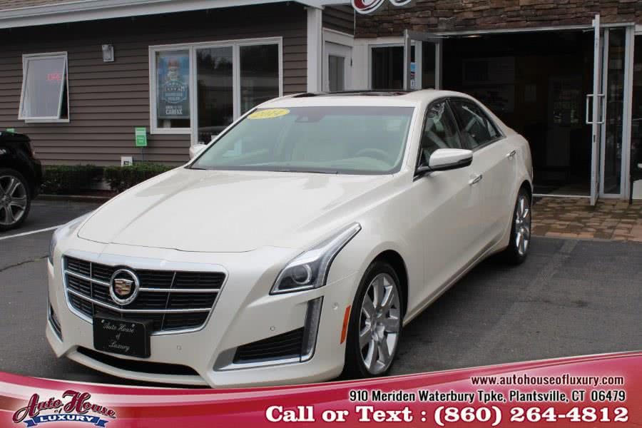 Used 2014 Cadillac CTS Sedan in Plantsville, Connecticut | Auto House of Luxury. Plantsville, Connecticut