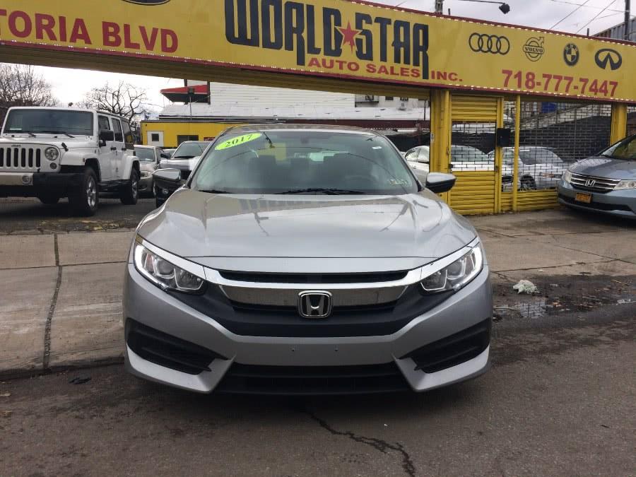 Used 2017 Honda Civic Sedan in Astoria, New York   World Star Auto Sales . Astoria, New York