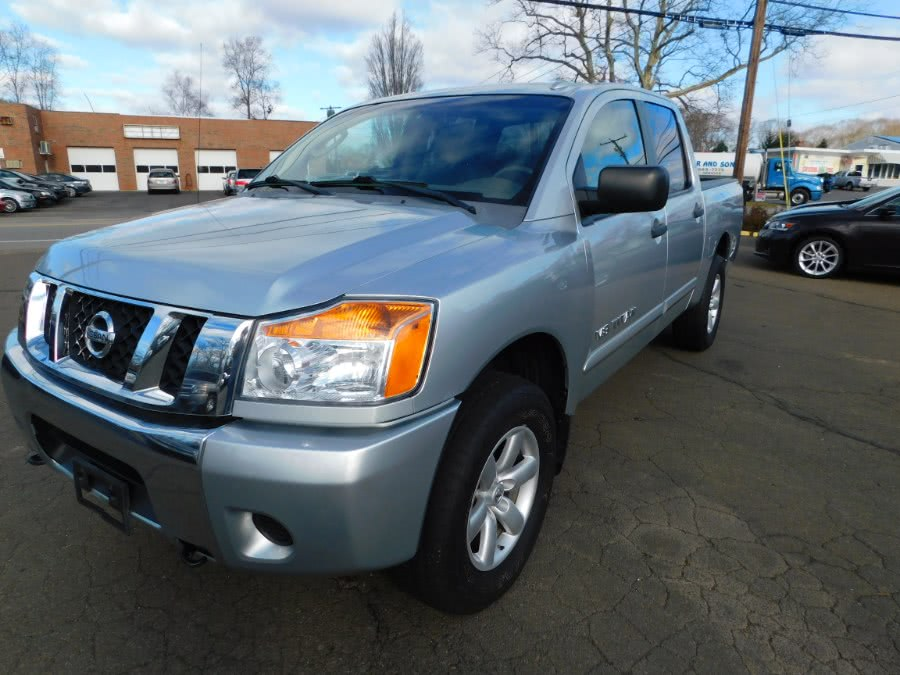 Used Nissan Titan 4WD Crew Cab SWB SE 2008 | M&M Motors International. Clinton, Connecticut