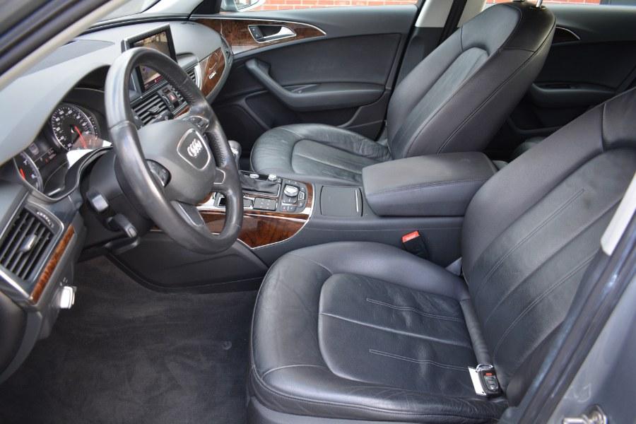 2012 Audi A6 4dr Sdn quattro 3.0T Premium Plus, available for sale in ENFIELD, Connecticut | Longmeadow Motor Cars. ENFIELD, Connecticut
