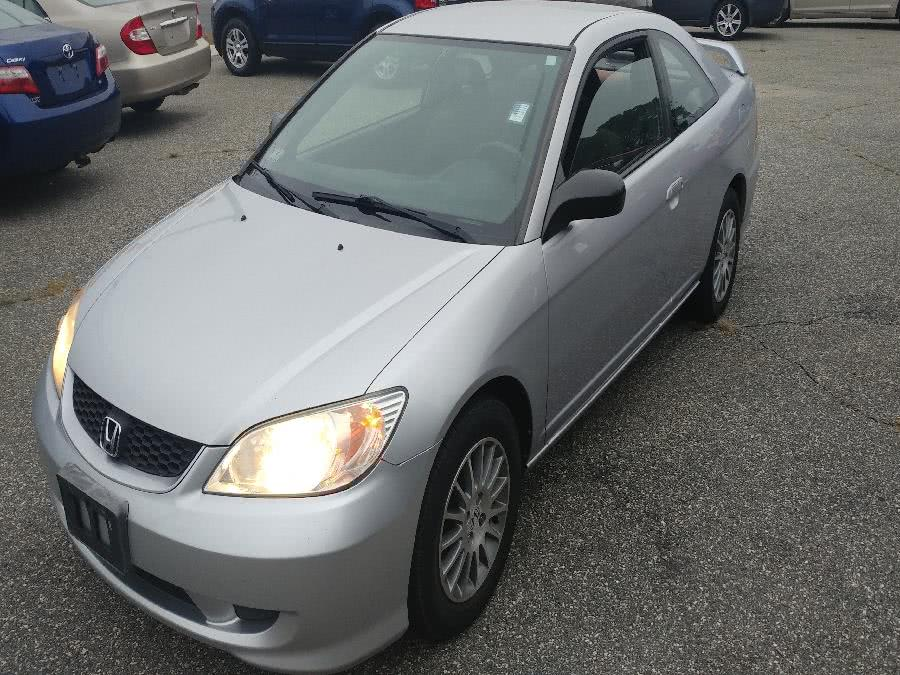 2005 Honda Civic Cpe LX AT SE, available for sale in Chicopee, Massachusetts | Matts Auto Mall LLC. Chicopee, Massachusetts