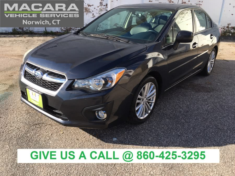 Used 2013 Subaru Impreza Sedan in Norwich, Connecticut | MACARA Vehicle Services, Inc. Norwich, Connecticut