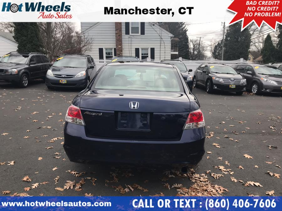 2008 Honda Accord Sdn 4dr I4 Man EX, available for sale in Manchester, Connecticut | Hot Wheels Auto Sales LLC. Manchester, Connecticut