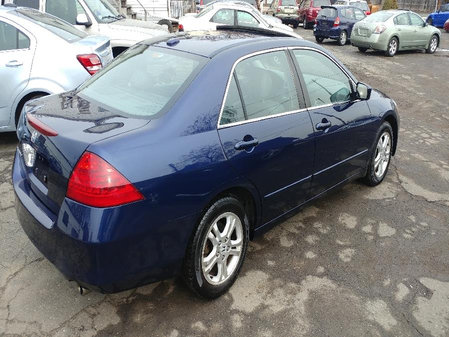 2007 Honda Accord Sdn 4dr I4 AT EX-L, available for sale in Chicopee, Massachusetts | Matts Auto Mall LLC. Chicopee, Massachusetts