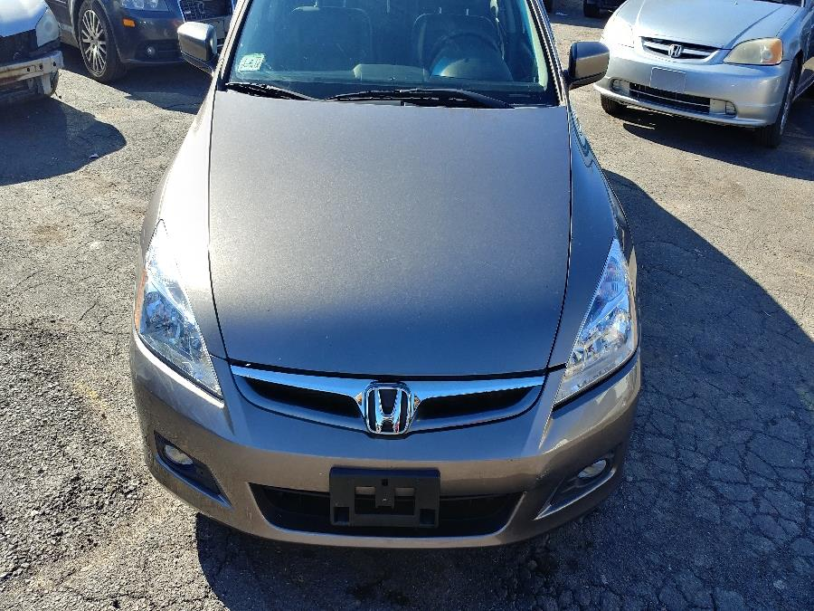 2006 Honda Accord Sdn EX-L V6 MT ULEV with NAVI, available for sale in Chicopee, Massachusetts | Matts Auto Mall LLC. Chicopee, Massachusetts