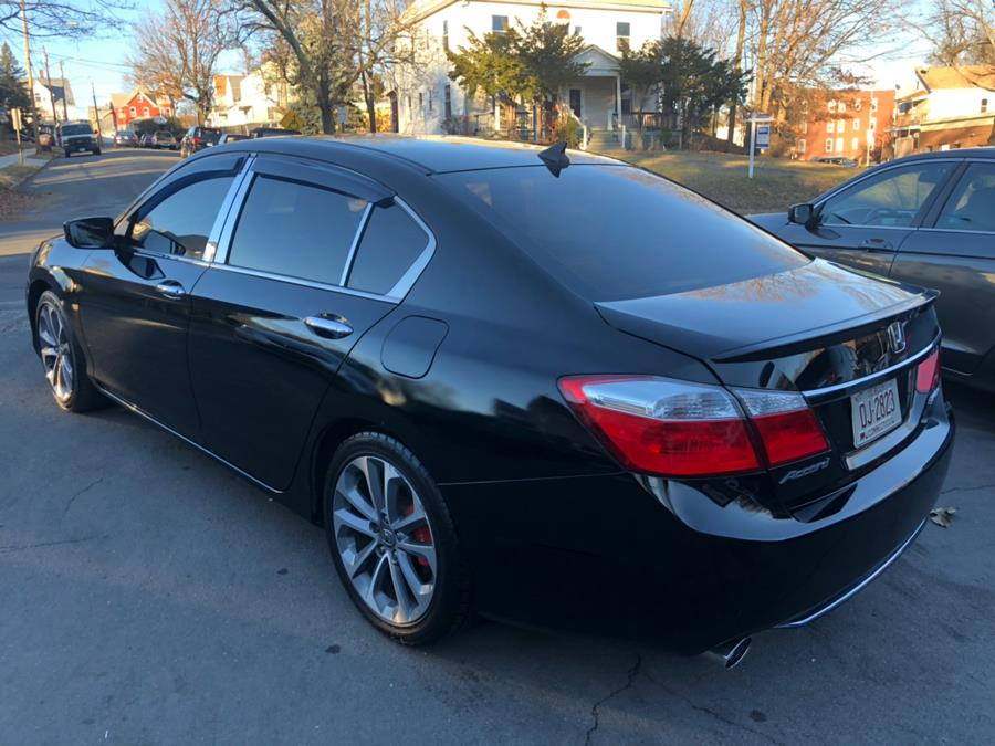 2014 Honda Accord Sedan 4dr I4 Man Sport, available for sale in New Britain, Connecticut | Central Auto Sales & Service. New Britain, Connecticut