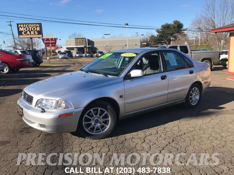 2004 Volvo S40 2004 1.9L Auto w/Sunroof, available for sale in Branford, Connecticut | Precision Motor Cars LLC. Branford, Connecticut