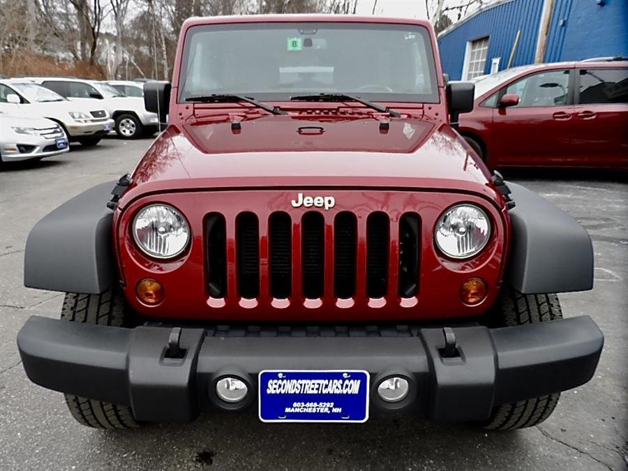 2013 Jeep Wrangler UNLIMITED SPORT 4DR SUV 4WD, available for sale in Manchester, New Hampshire | Second Street Auto Sales Inc. Manchester, New Hampshire
