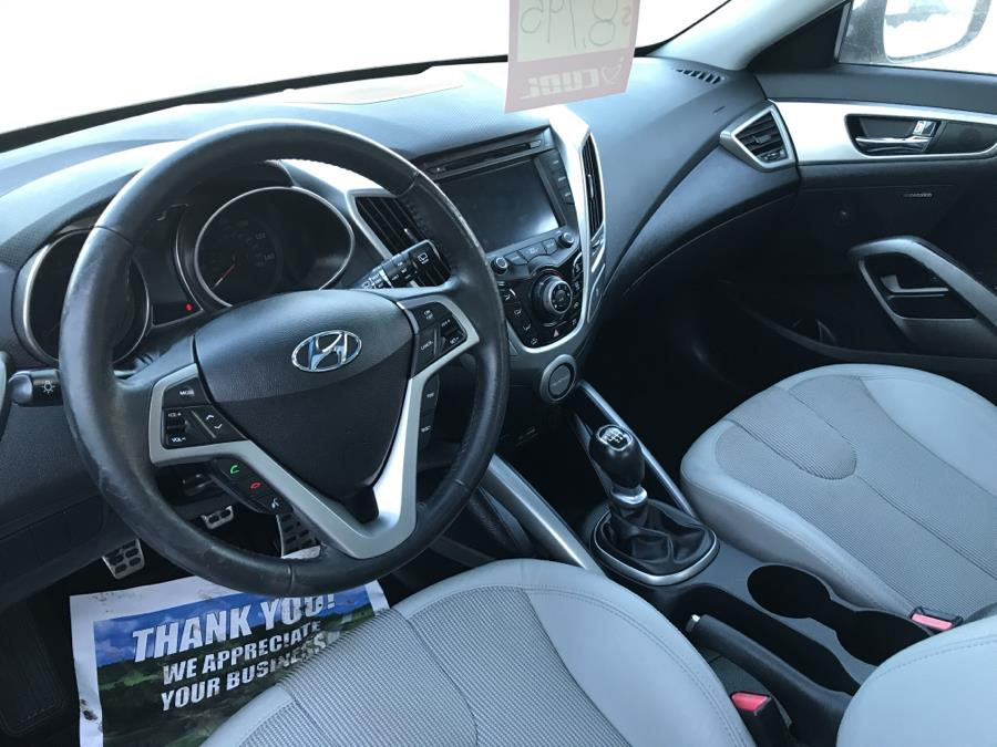 2012 Hyundai Veloster 3dr Cpe Man w/Gray Int, available for sale in Barre, Vermont | Routhier Auto Center. Barre, Vermont