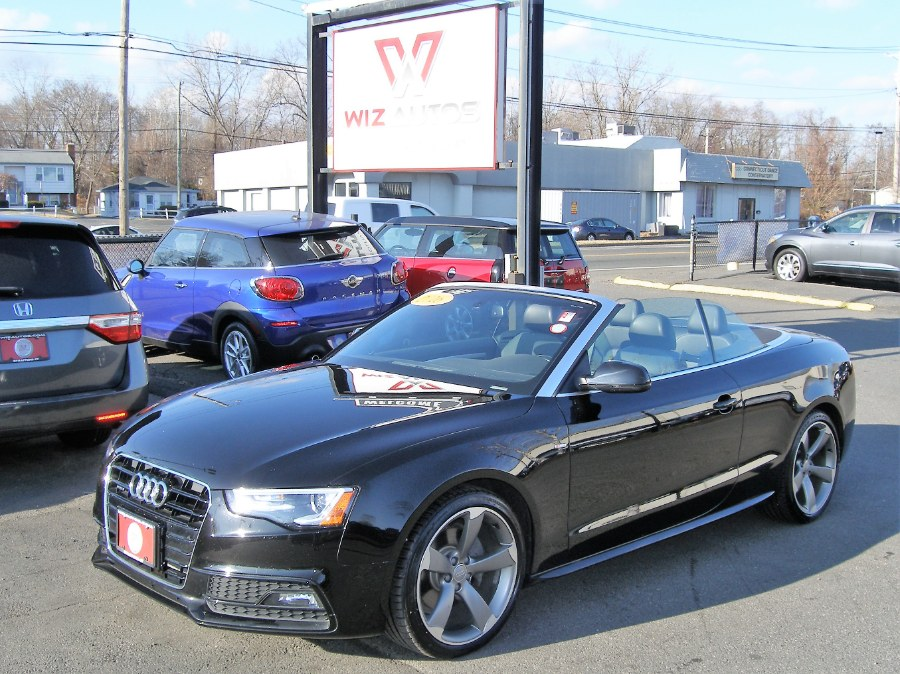 2016 Audi A5 2dr Cabriolet Auto Premium Plus, available for sale in Stratford, Connecticut | Wiz Leasing Inc. Stratford, Connecticut