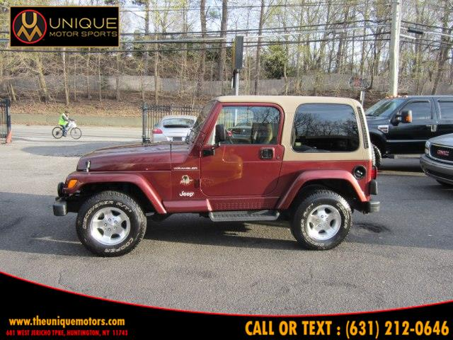 2002 Jeep Wrangler 2dr Sahara, available for sale in Huntington, New York | Unique Motor Sports. Huntington, New York
