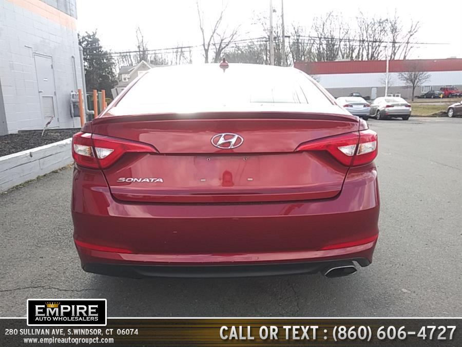 Used Hyundai Sonata 4dr Sdn 2.4L SE 2015 | Empire Auto Wholesalers. S.Windsor, Connecticut