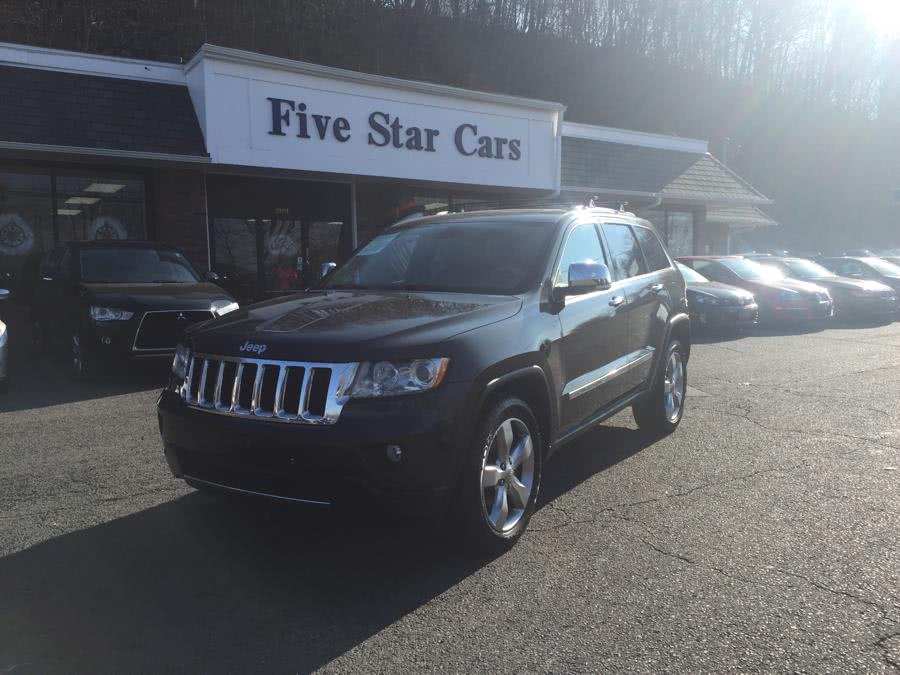 2011 Jeep Grand Cherokee 4WD 4dr Overland, available for sale in Meriden, Connecticut | Five Star Cars LLC. Meriden, Connecticut