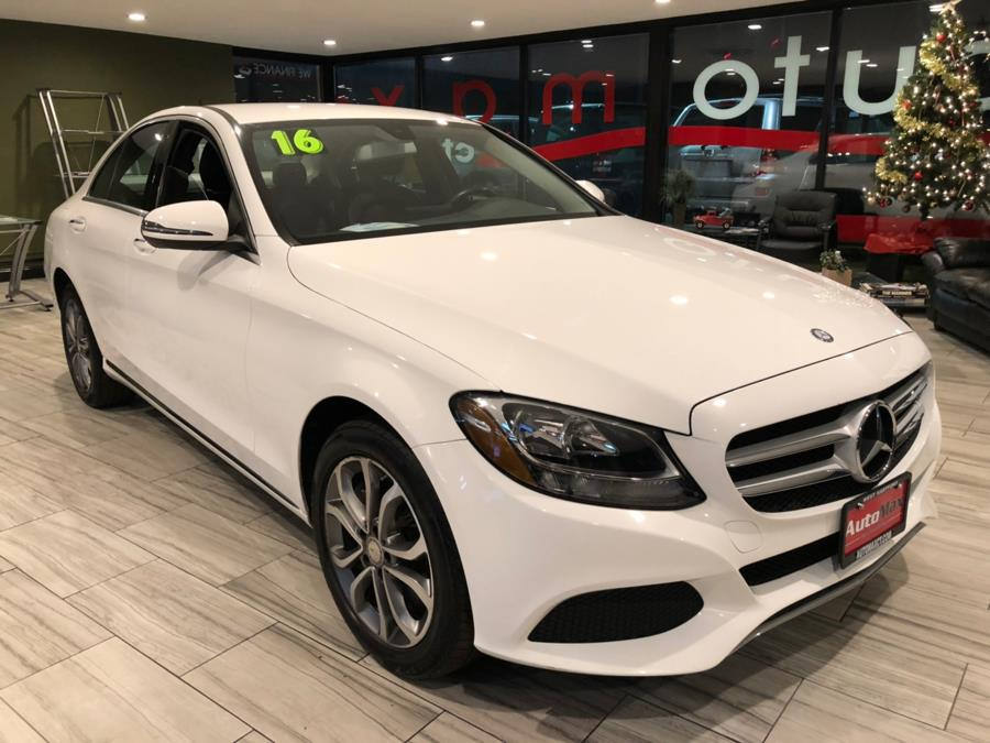 2016 Mercedes-Benz C-Class 4dr Sdn C300 Luxury 4MATIC, available for sale in West Hartford, Connecticut | AutoMax. West Hartford, Connecticut