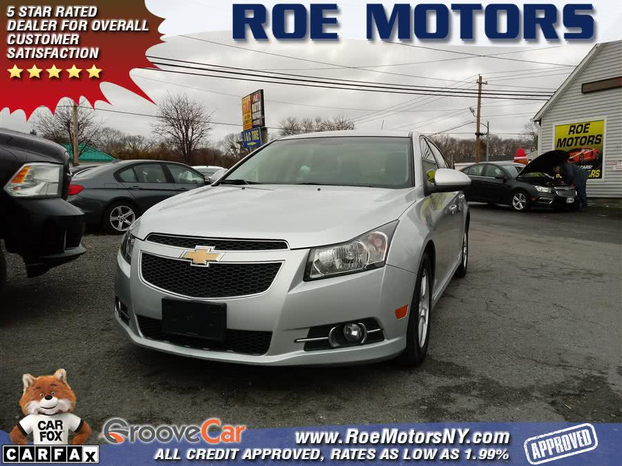 2013 Chevrolet Cruze 4dr Sdn Auto 1LT, available for sale in Shirley, New York | Roe Motors Ltd. Shirley, New York