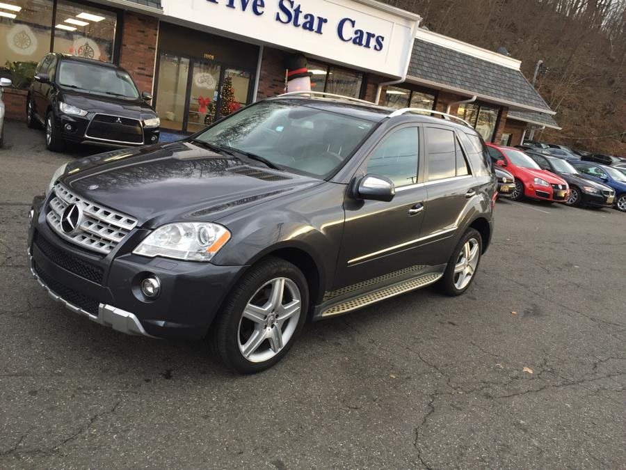 2010 Mercedes-Benz M-Class 4MATIC 4dr ML550, available for sale in Meriden, Connecticut   Five Star Cars LLC. Meriden, Connecticut