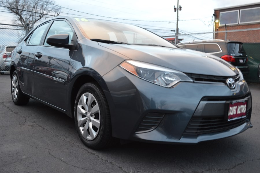 2016 Toyota Corolla 4dr Sdn CVT LE (Natl), available for sale in Hartford, Connecticut | Locust Motors LLC. Hartford, Connecticut